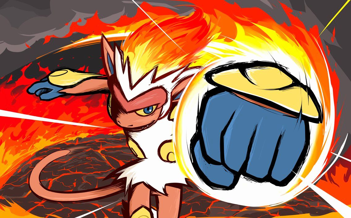 Anime Fire Wallpaper – Infernape Fire Punch by ishmam On Deviantart …