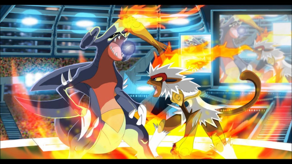 Pokemon Garchomp Vs. Infernape – YouTube