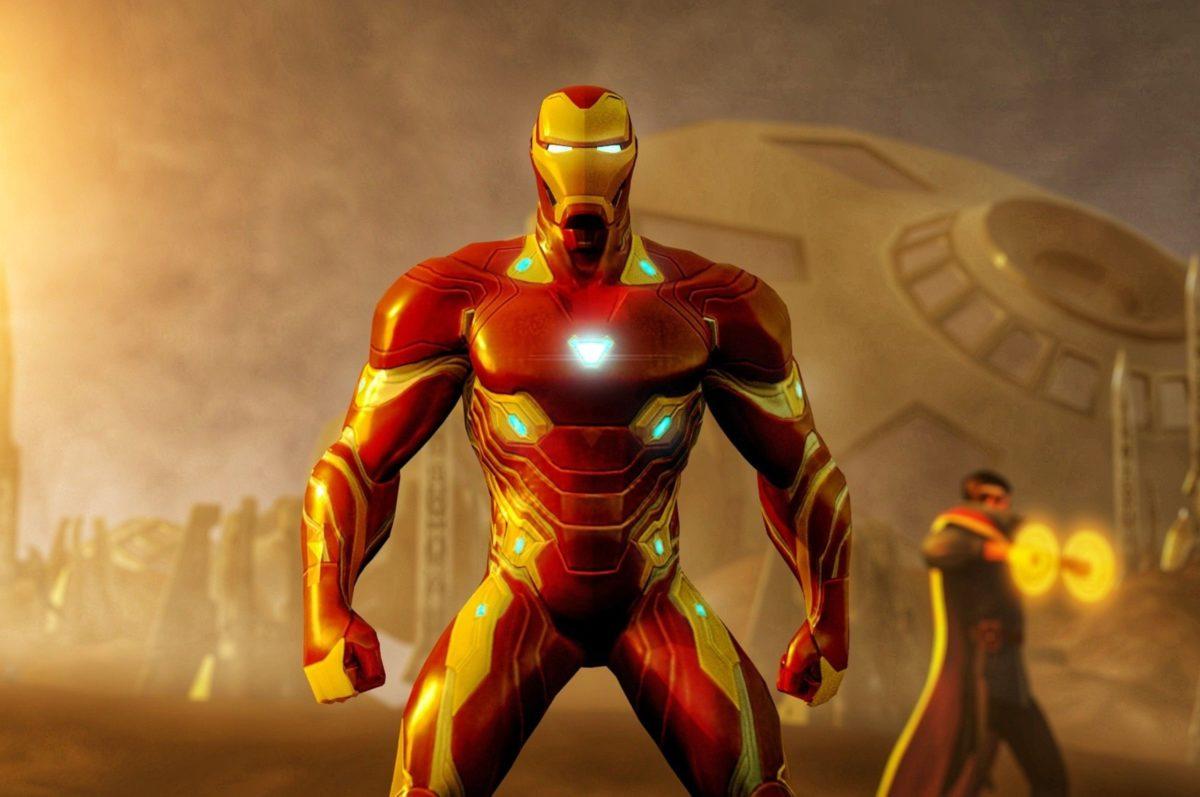 2560×1700 Iron Man Vibranium Suit In Avengers Infinity War …