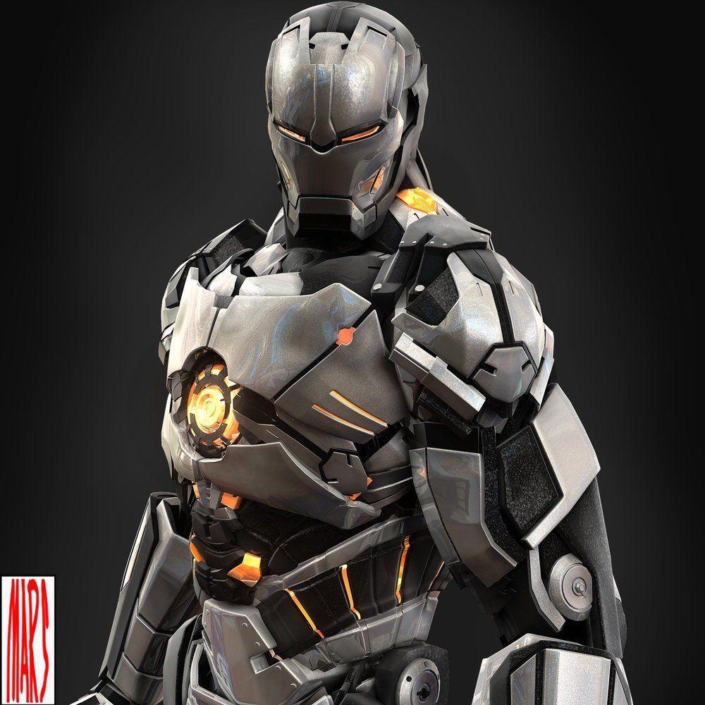 Slick IRON MAN Armor Designs by Mars | Pinterest | Iron, Google and …