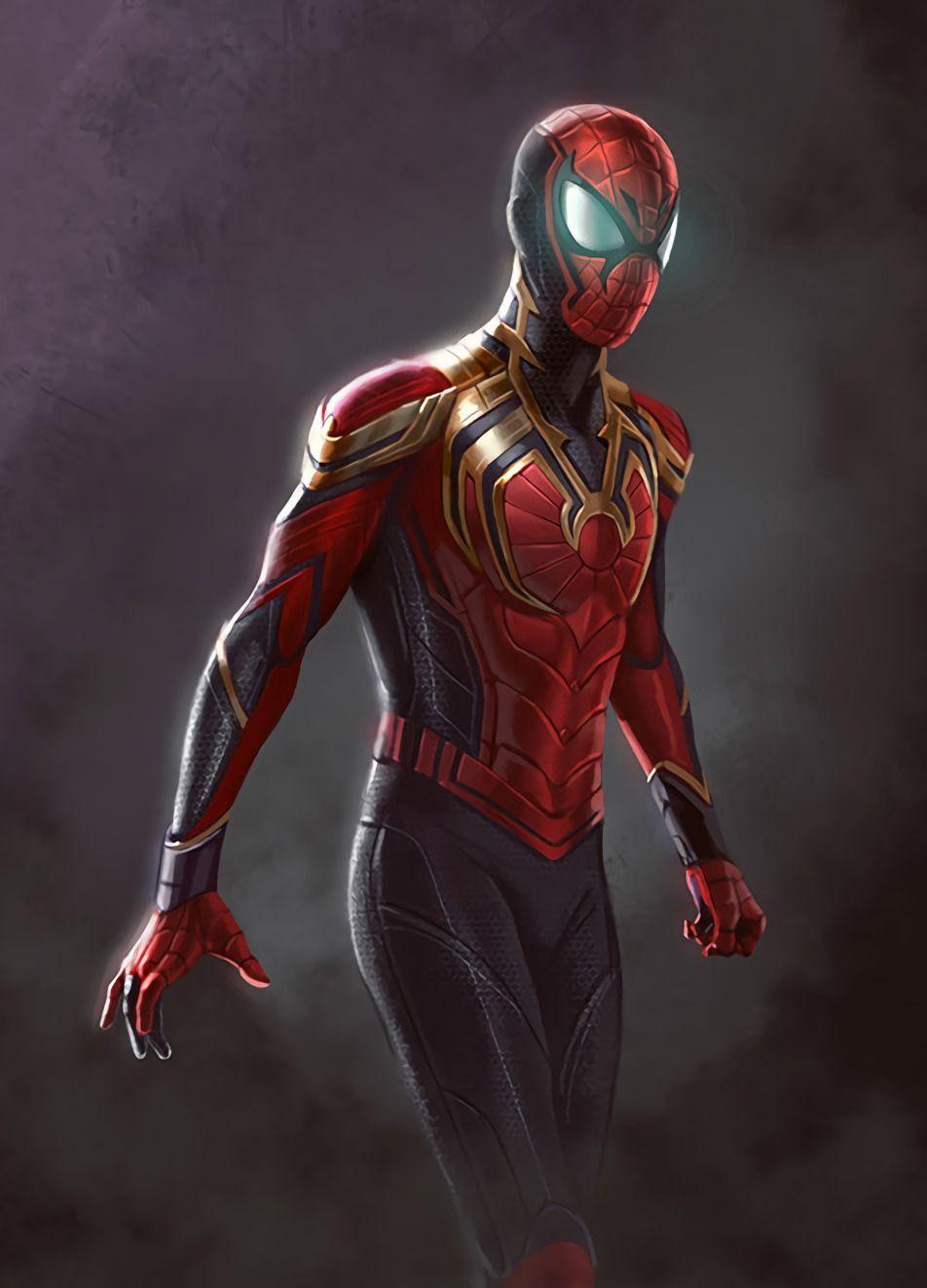Spider-man Wakanda vibranium armor concept art. | MARVEL | Pinterest …