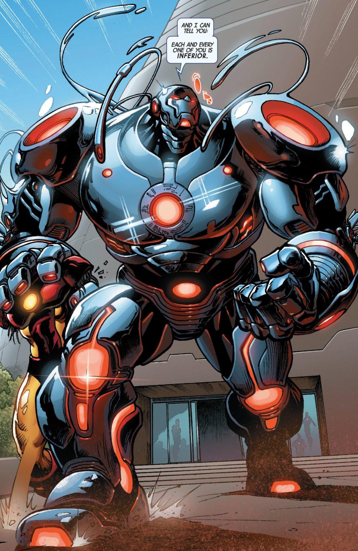 Can Ironman kill Hulk or Thor? can he create any power? – Iron Man …