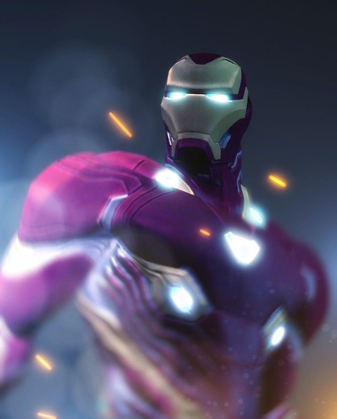 ArtStation – Iron Man – Vibranium Suit, Irfan Parasayan