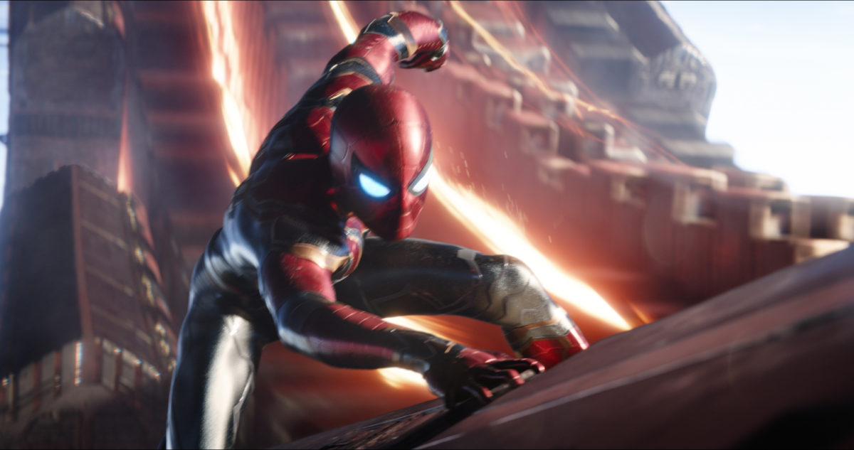 Avengers: Infinity War: Spider-Man and Iron Man's New Suits | Time