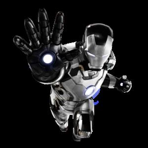 download Iron Man Mk. 42 Black+White by 666Darks on DeviantArt