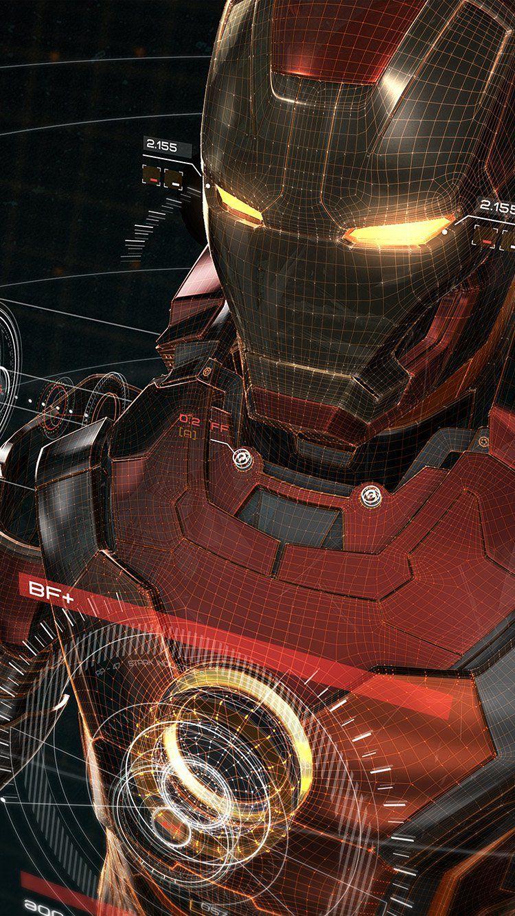 Iron Man 3D wallpaper … | WALPAPER…