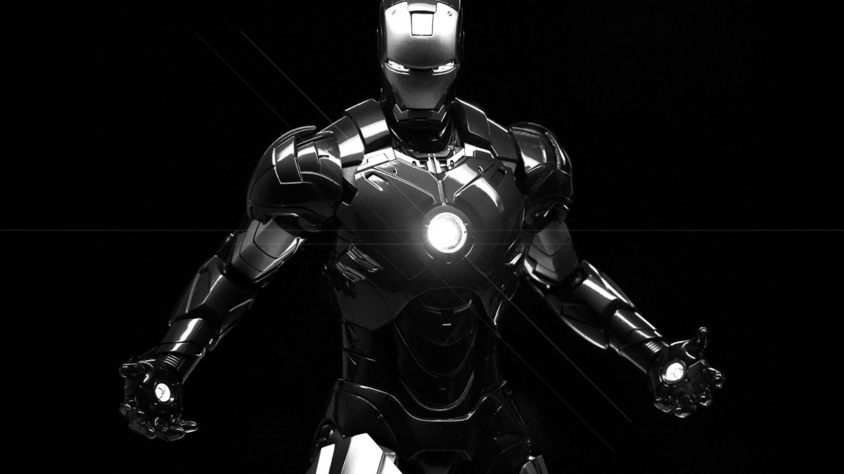 Iron Man Black And White Wallpapers (52+)