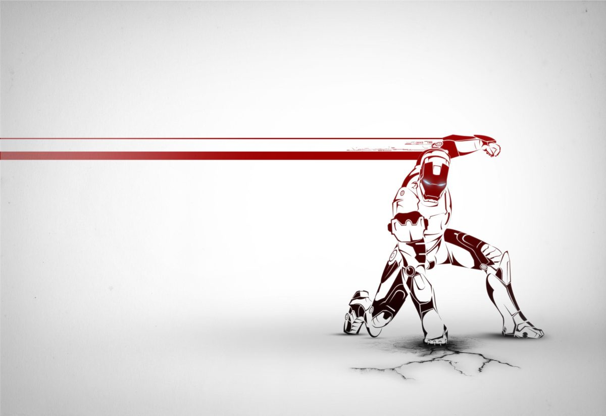 Ironman Wallpaper on Behance
