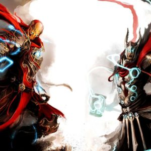 download 1680×1050 Thor and ironman Wallpaper