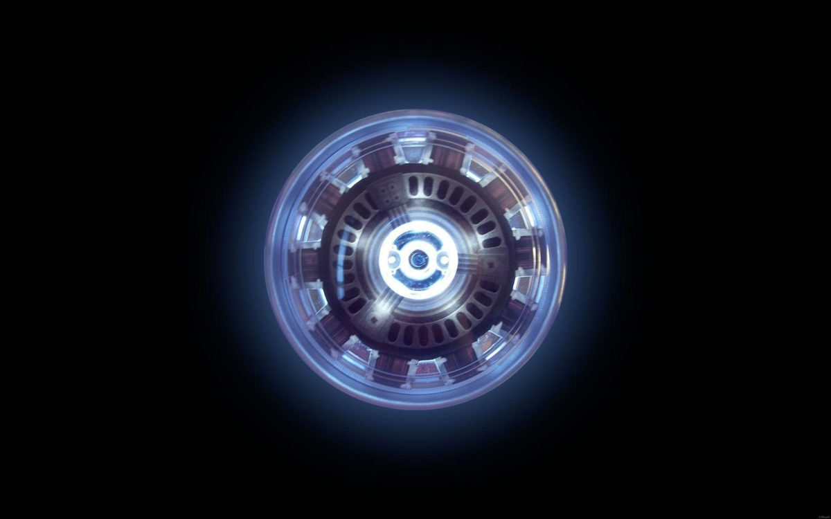 Arc reactor – Iron Man Wallpaper #
