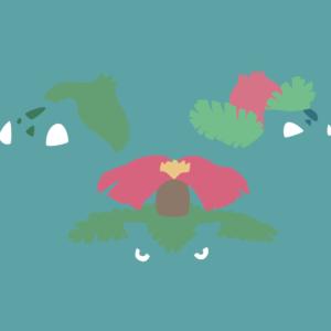 download Bulbasaur Minimalist Ivysaur | Collection 10+ Wallpapers