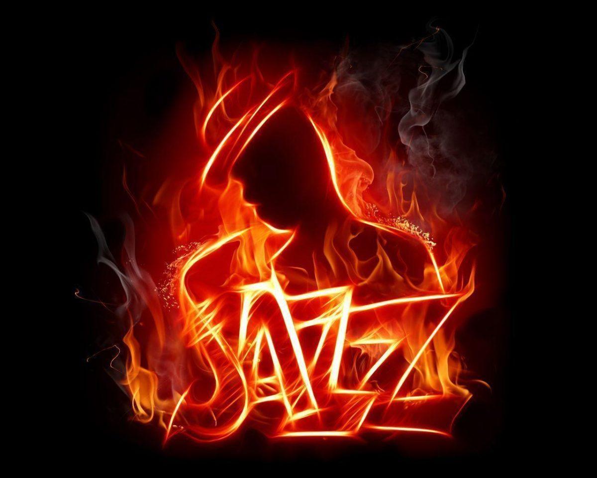 Jazz Music Fire Wallpaper Music #13400 Wallpaper | Wallpaper …