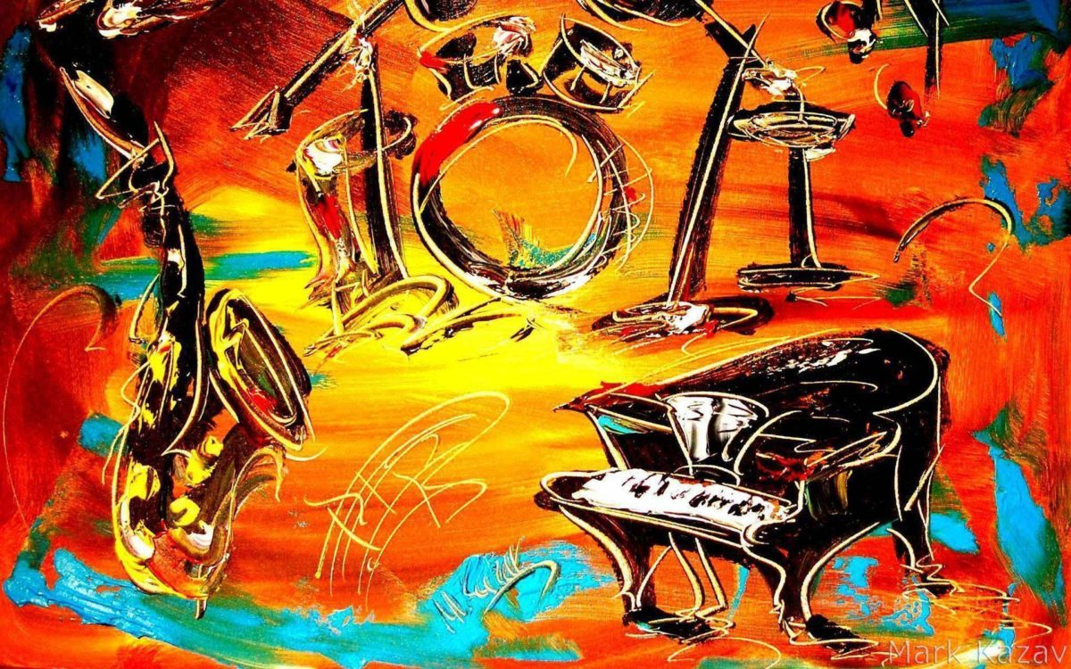 Images For > Jazz Band Wallpaper
