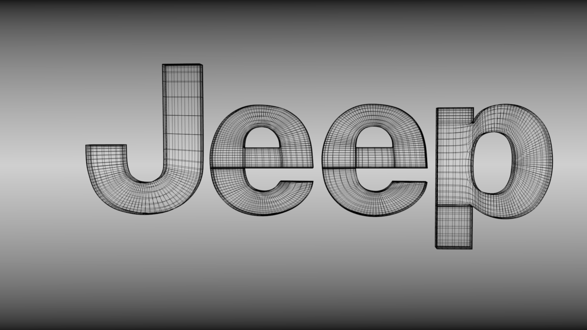 Jeep logo 3D Model .obj .blend – CGTrader.