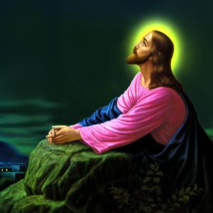 download Jesus Christ Praying Wallpapers