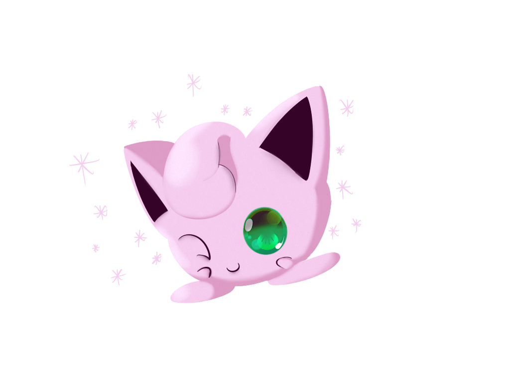 Shiny Jigglypuff by Chaomaster1 on DeviantArt
