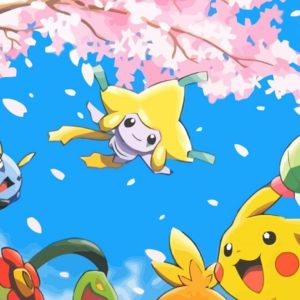 download ScreenHeaven: Bellossom Grovyle Illumise Jirachi Pikachu desktop and …