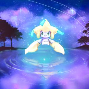download Jirachi by MeluuArts.deviantart.com on @DeviantArt   Pokemon on …