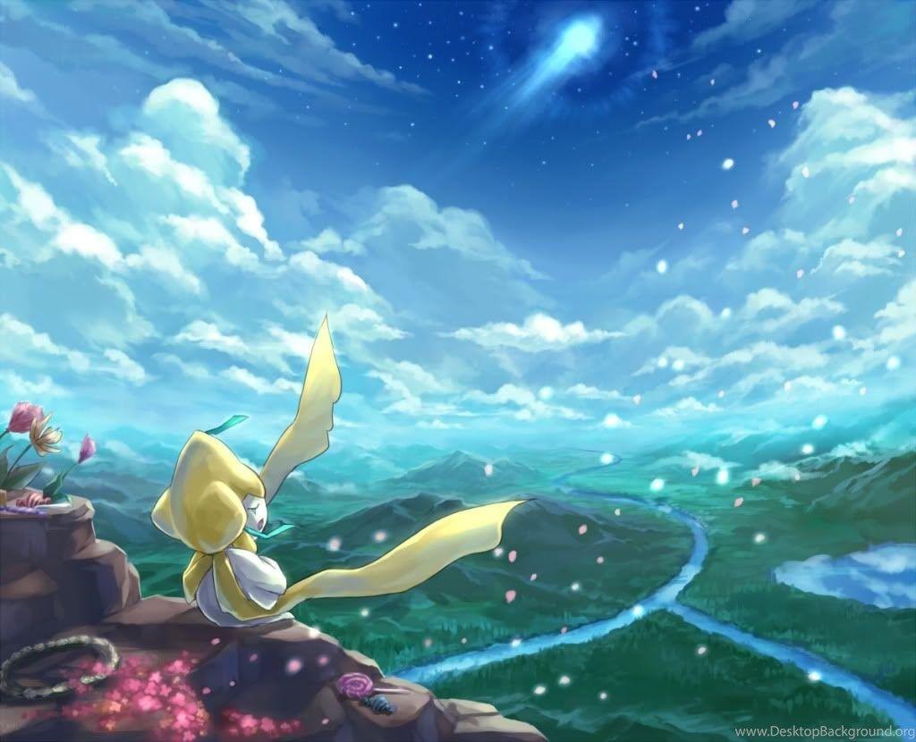 Jirachi Pokemon Wallpapers Desktop Background