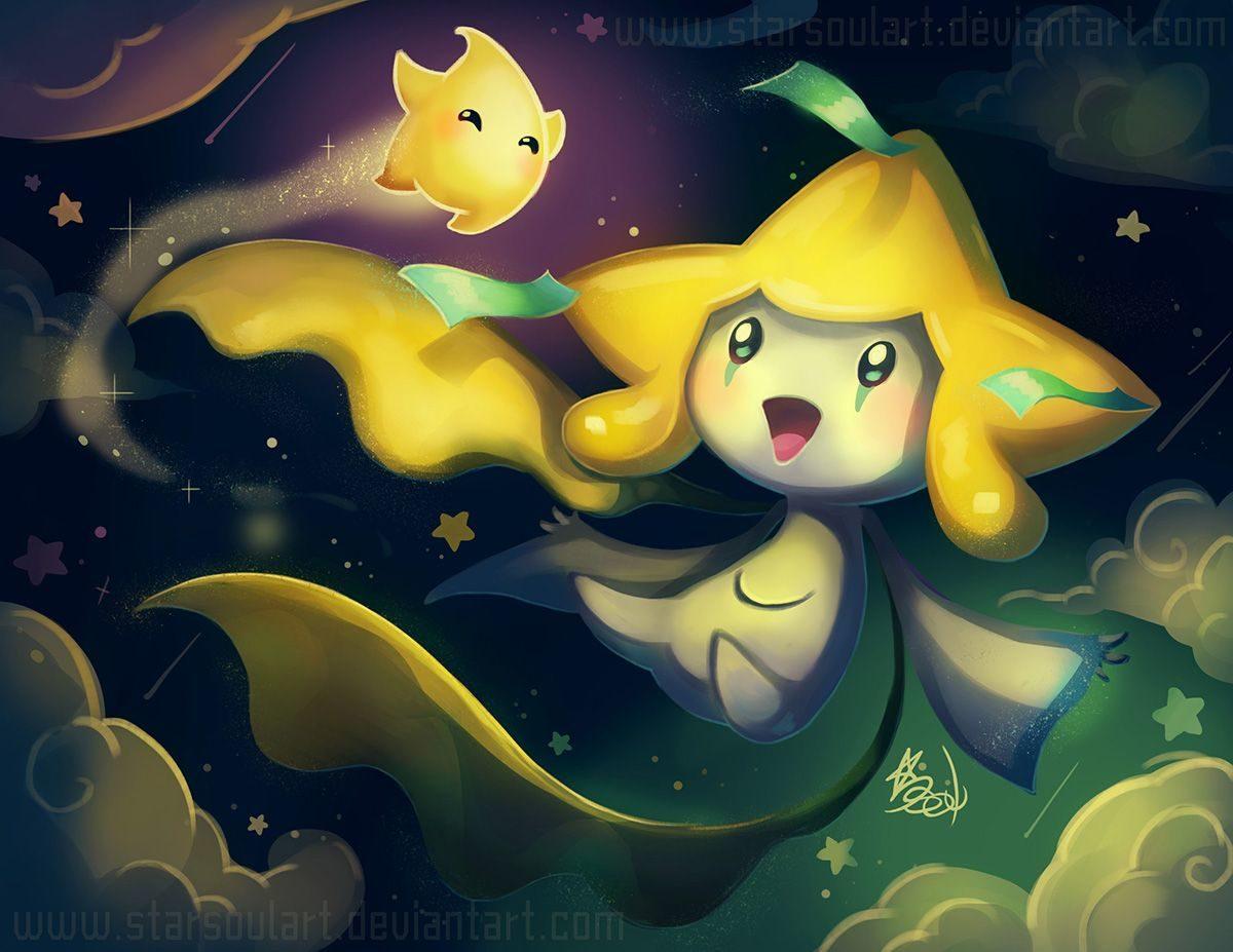 Jirachi and mini Luma! by StarSoulArt on DeviantArt