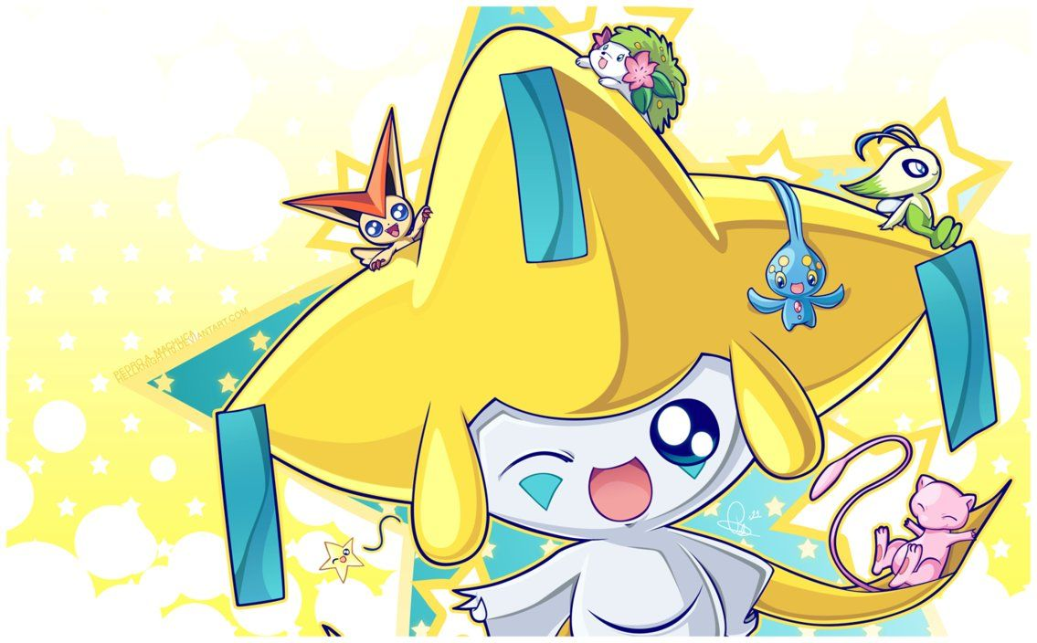 Jirachi and Friends by Hellknight10 on DeviantArt