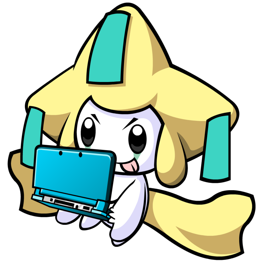 Jirachi on a 3DS by Cowctus on DeviantArt