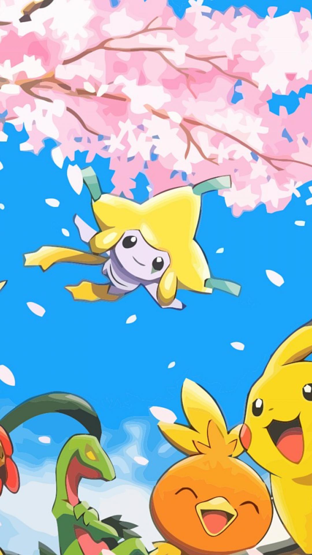 ScreenHeaven: Bellossom Grovyle Illumise Jirachi Pikachu desktop and …