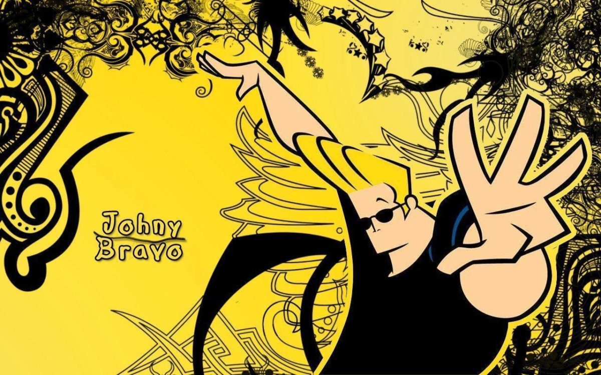 Johnny Bravo Wallpaper by zarazgasze