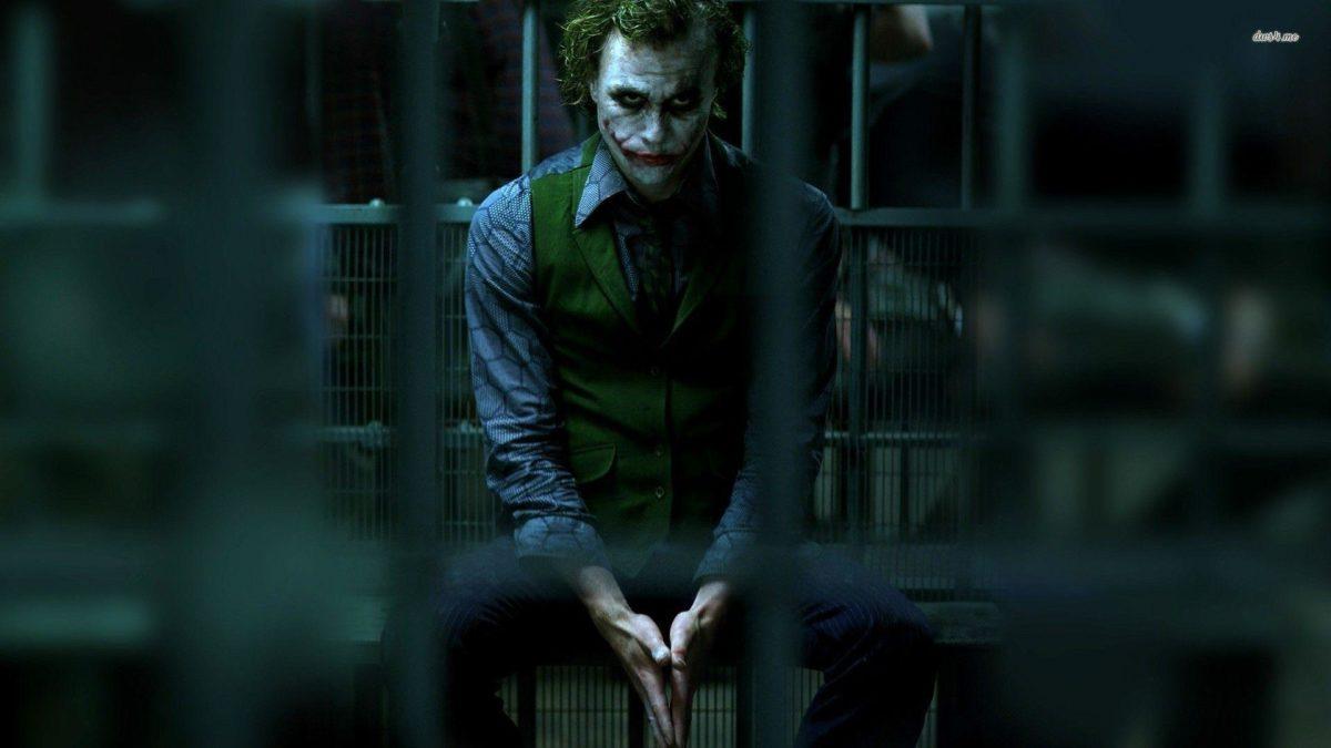 Wallpapers For > The Dark Knight Joker Face Wallpaper