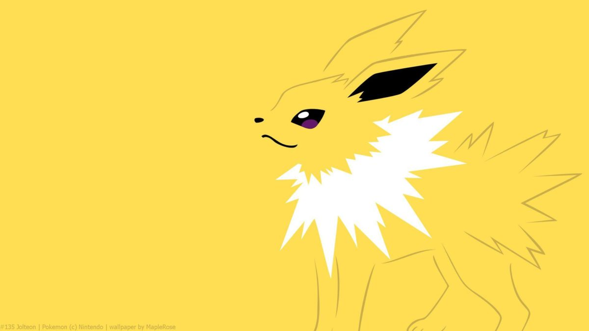 Jolteon Full HD Wallpaper and Background Image | 1920×1080 | ID:481199