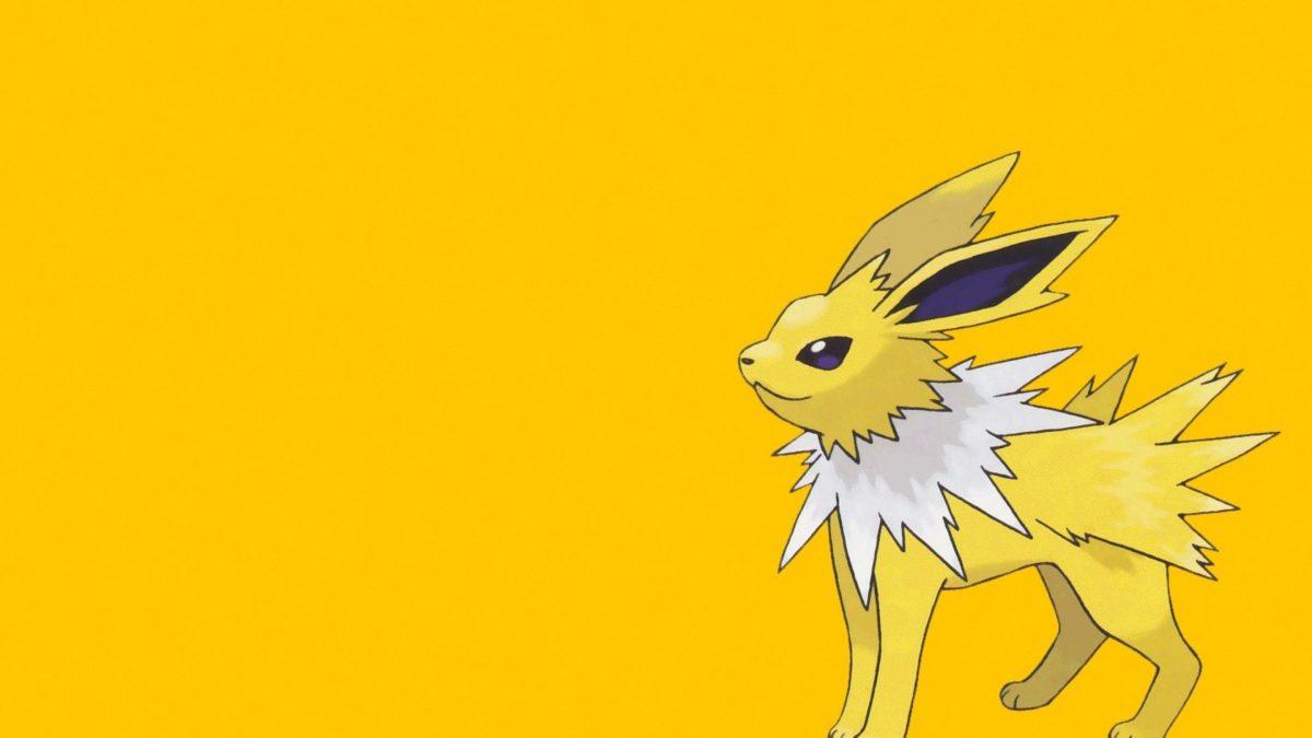 ScreenHeaven: Jolteon Pokemon simple background desktop and mobile …