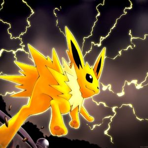 download pokemon video games storm anime jolteon lighting jump game …