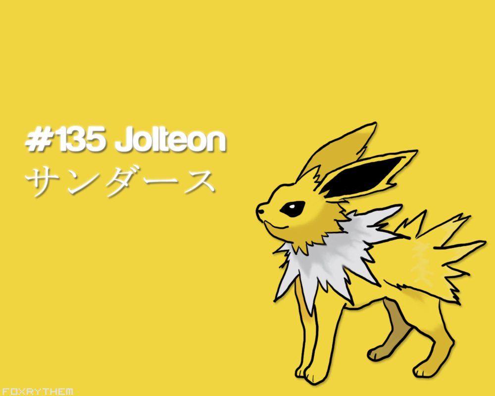 Jolteon Wallpaper by FoxRythem on DeviantArt