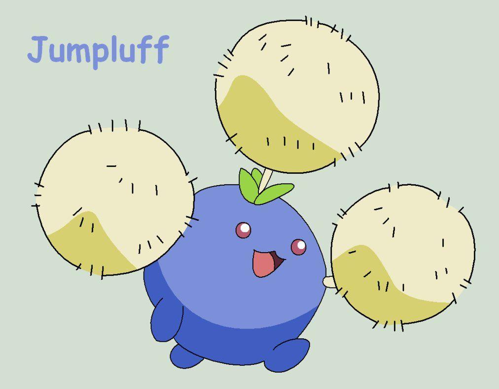 Jumpluff by Roky320 on DeviantArt