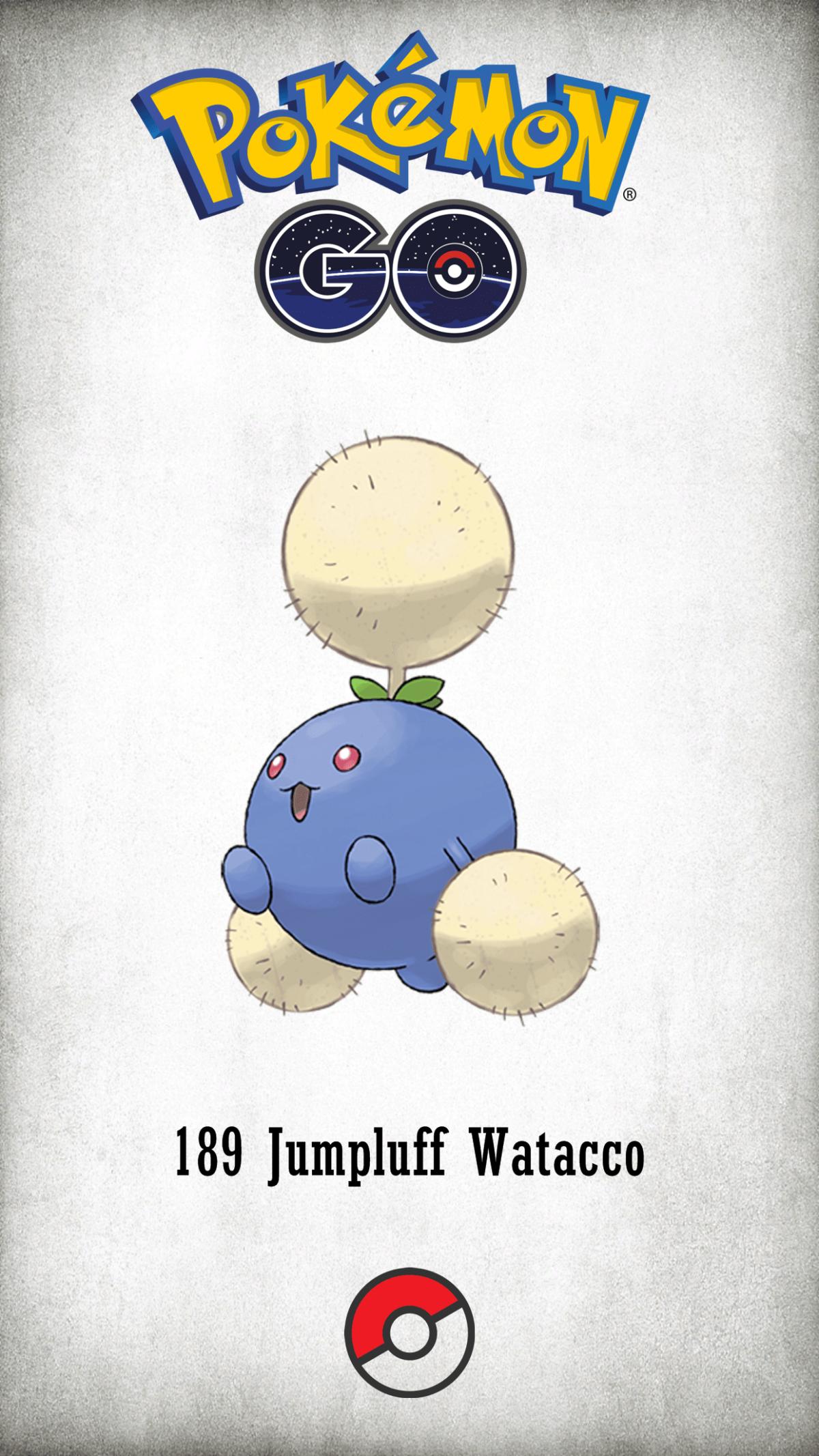 189 Character Jumpluff Watacco | Wallpaper