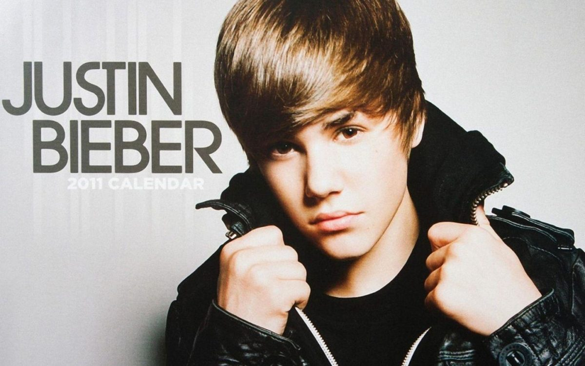 1440×900 Justin Bieber 2011 Calendar desktop PC and Mac wallpaper