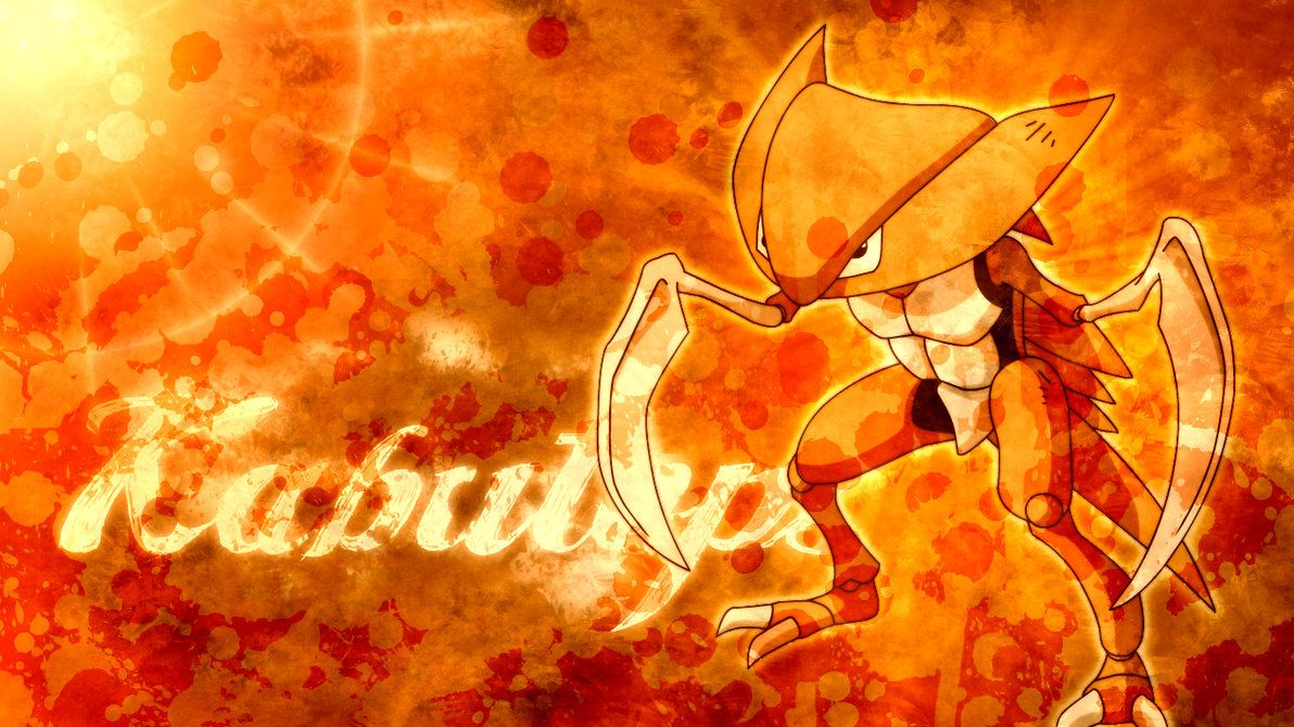 Kabutops : Widescreen by applejackles on DeviantArt