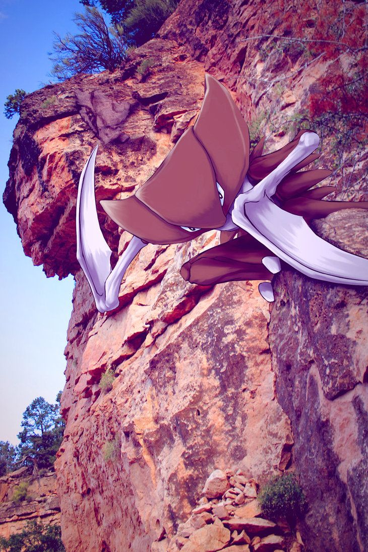 Wild Kabutops in the Canyon by Ninja-Jamal on DeviantArt