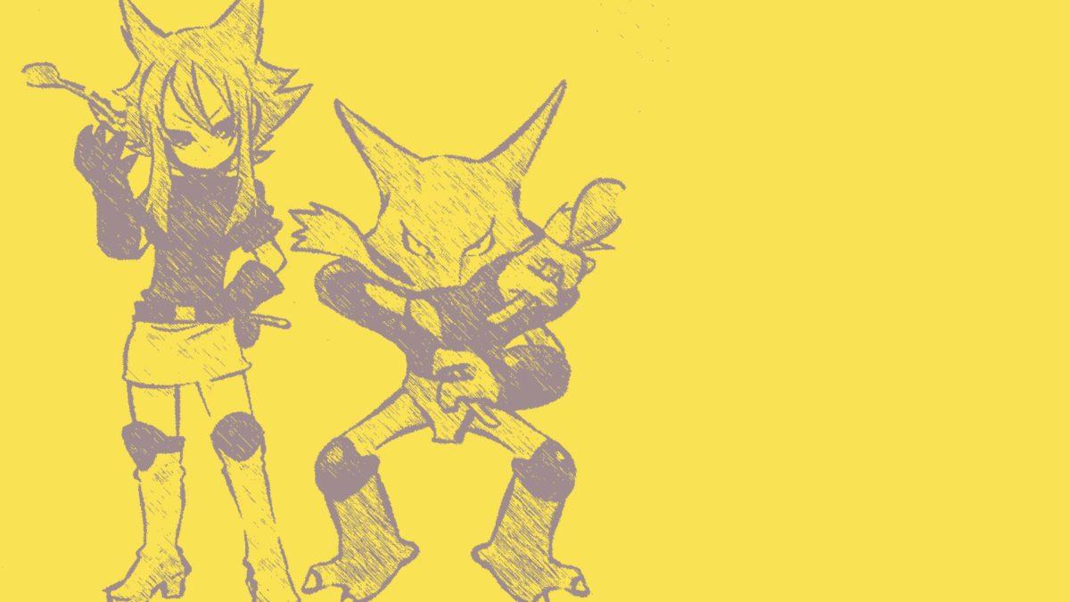 pokemon anime alakazam kadabra #355581