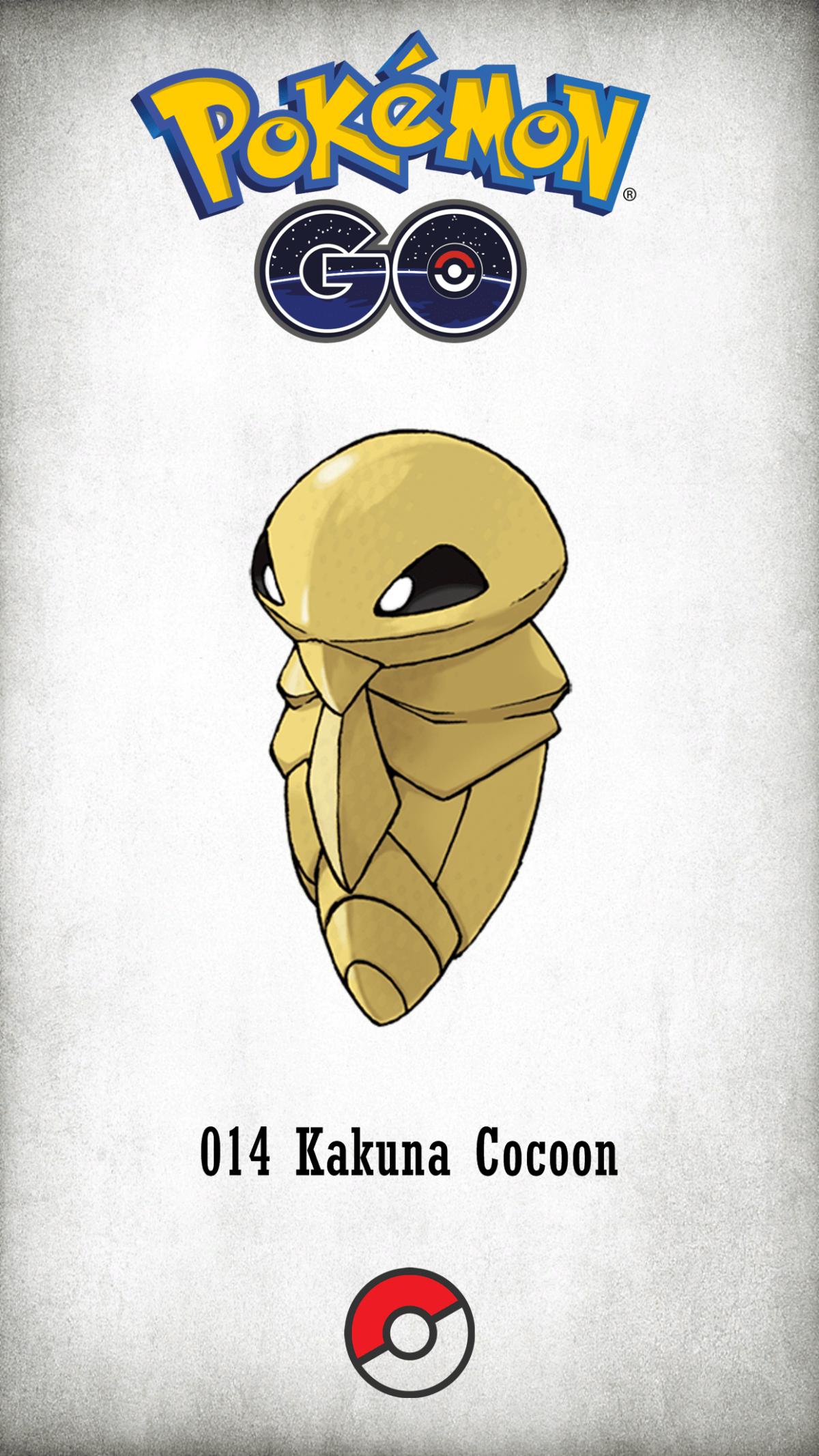014 Character Kakuna Cocoon | Wallpaper
