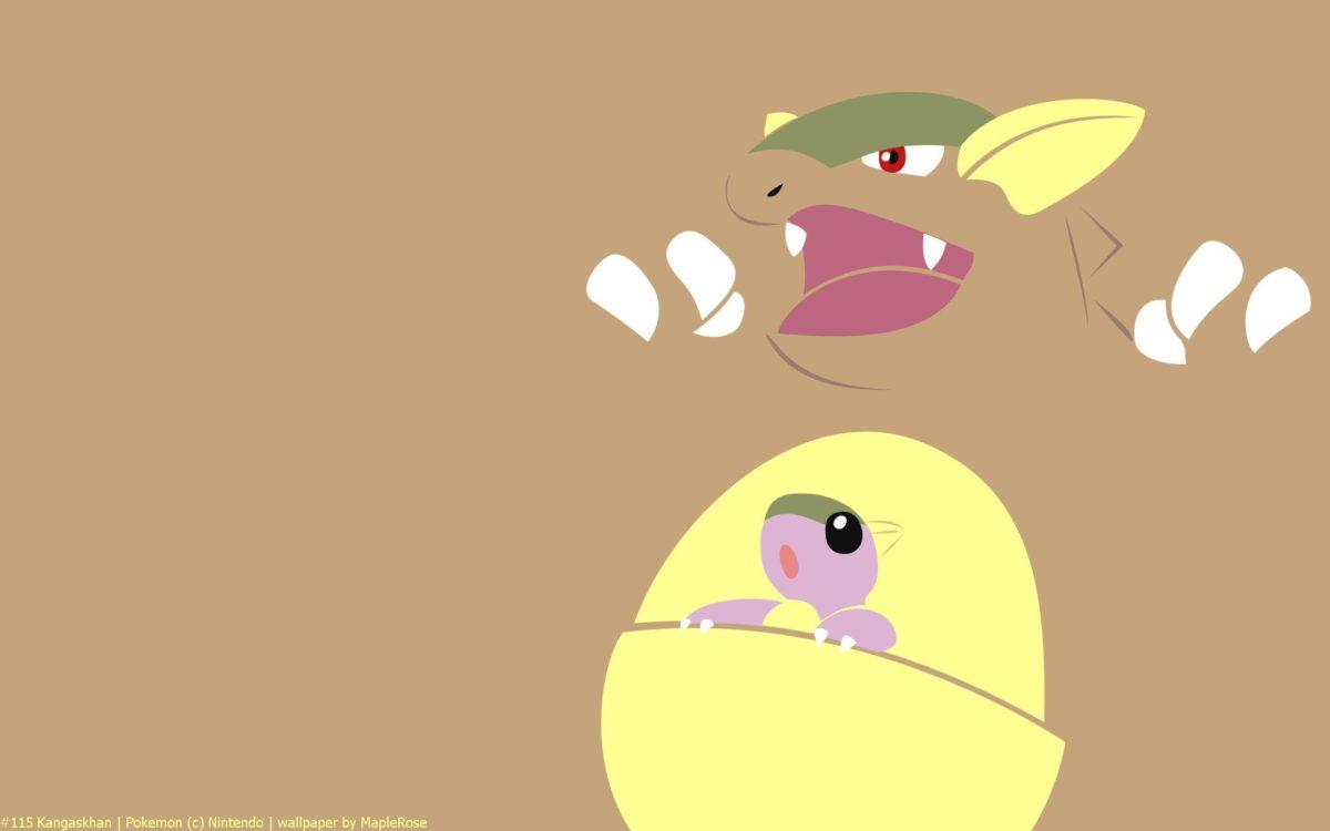 Kangaskhan Pokemon HD Wallpaper – Free HD wallpapers, Iphone …