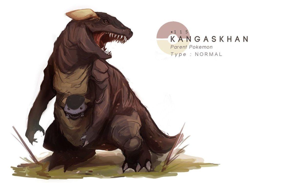 Kangaskhan by MrRedButcher on DeviantArt