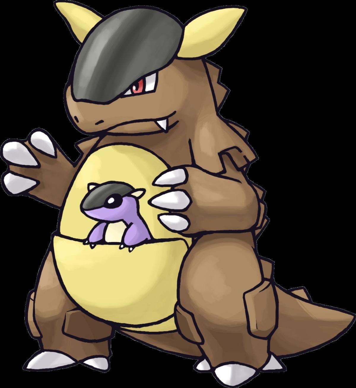 Kangaskhan | Pokemon Pokedex From Kanto | Pinterest | Pokemon pokedex