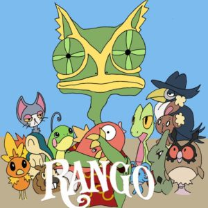 download Kecleon Rango Poster by Pykkeron on DeviantArt