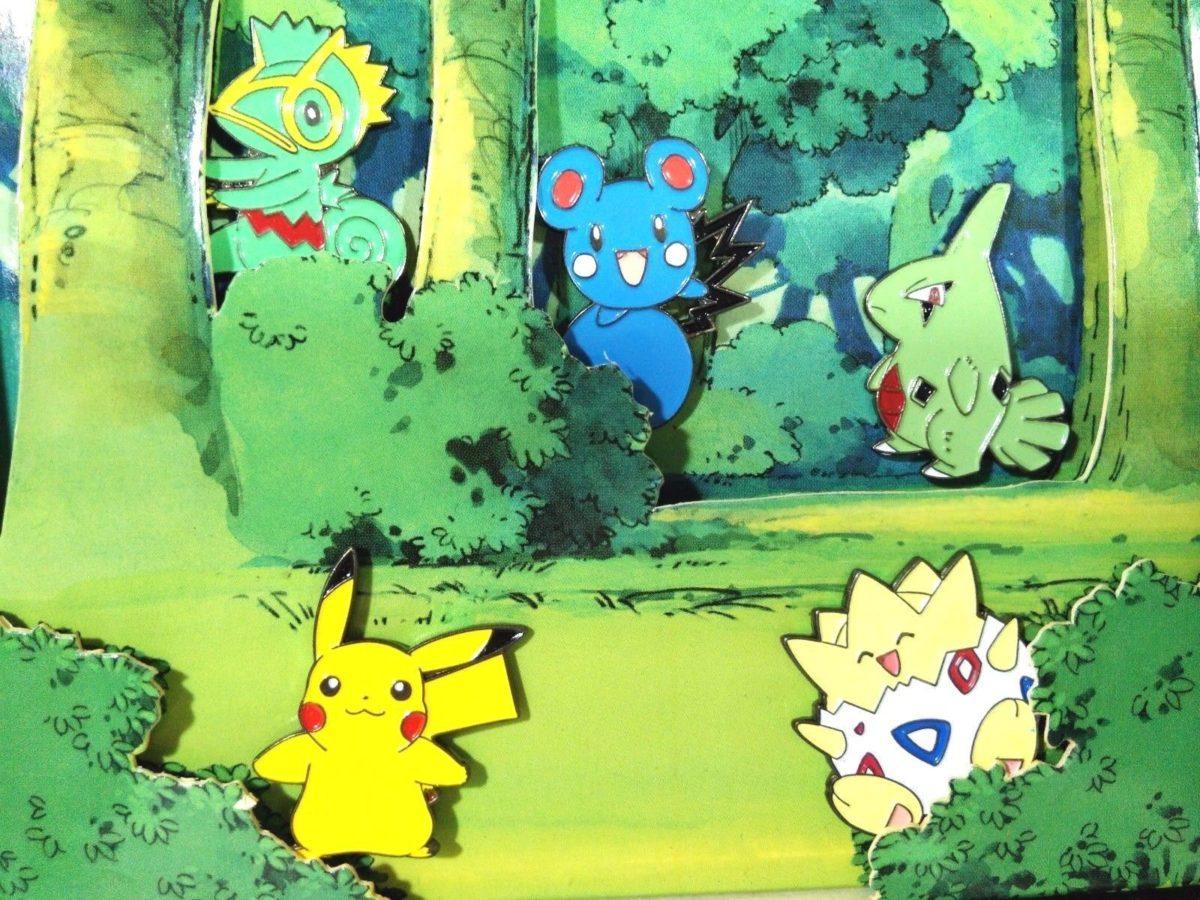 Kecleon Pikachu Larvitar Togepi Azurill Pokemon Pin Badge Lapel …