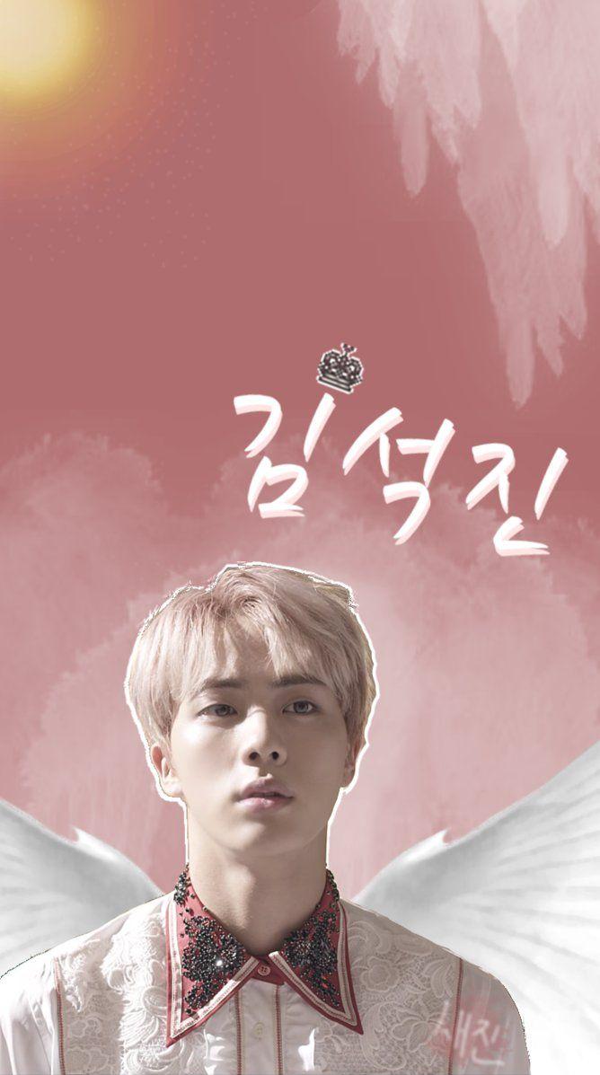 Jin/Kim SeokJin Lockscreen – Wallpaper by SaejinGrvmvtic on DeviantArt