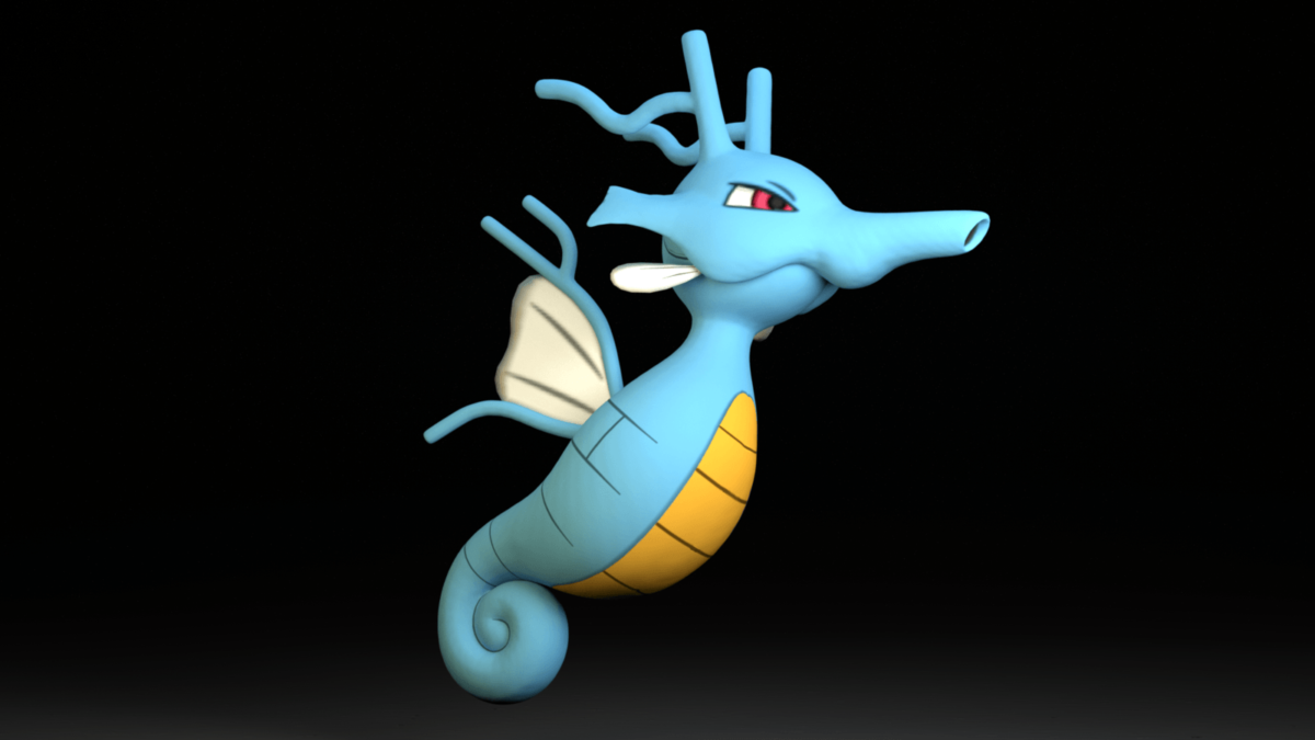 230. Kingdra by TheAdorableOshawott on DeviantArt