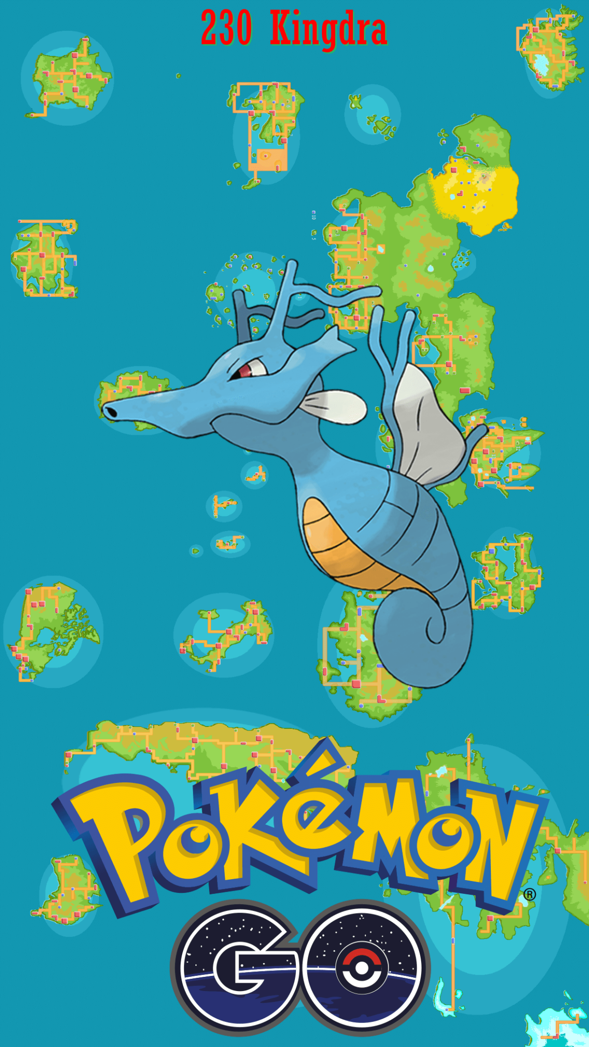 230 Street Map Kingdra | Wallpaper