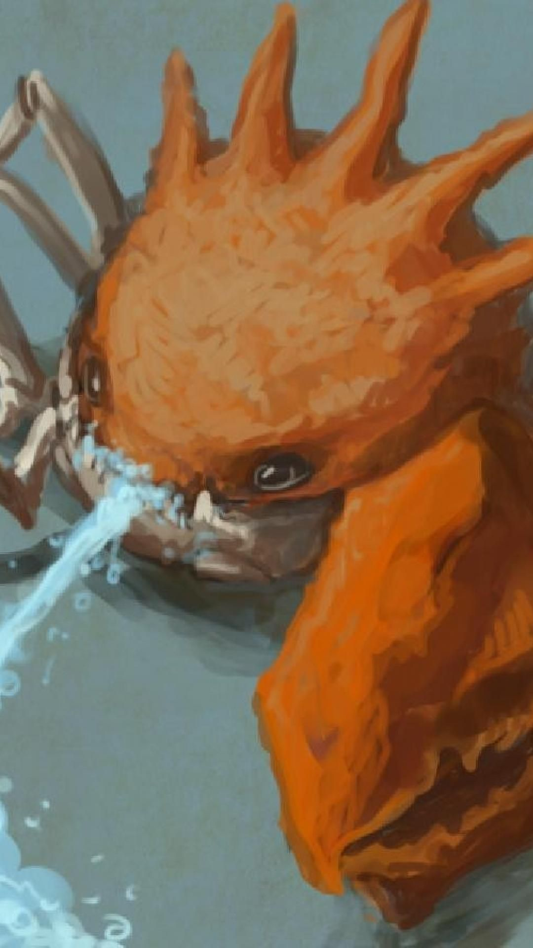 Water pokemon digital art artwork crabs kingler wallpaper   (102865)