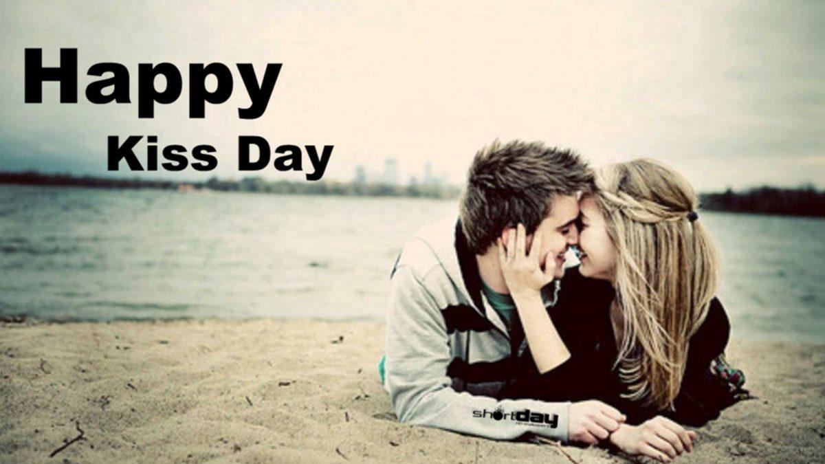 Happy Kiss Day HD Wallpaper 2016
